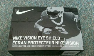 Brand New Nike Football Visor Adult Clear