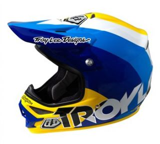 Troy Lee Designs Air   Beta Yellow/Blue