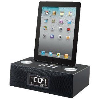 App Enhanced Dual Alarm Clock Radio for Your iPad iPhone iPod W