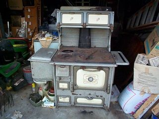 Antique Home Comfort Coal Wood Cook Stove