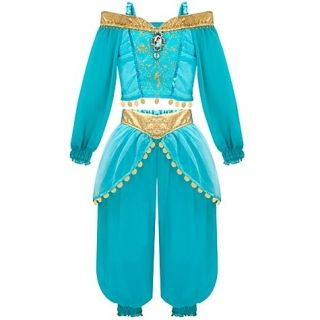 Deluxe Princess Jasmine Costume sz 4 Girls Dress Up