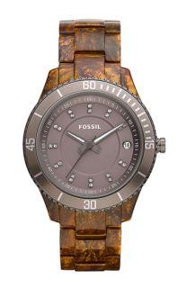 Fossil Stella Round Dial Bracelet Watch