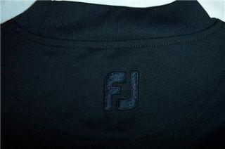 Cobra Speed FootJoy Golf Shirt Mock Neck Mens Medium Black