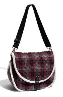 Fashion Express Plaid Messenger Bag