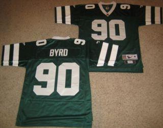 New York Jets Byrd Throwback Jersey 2XL Green 90