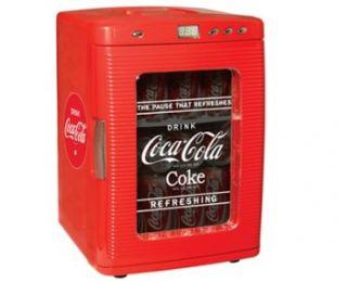 Coca Cola Coke Small Mini Fridge Refrigerator Car Boat 059586600340