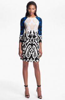 Tibi Colorblock Jersey Shift Dress