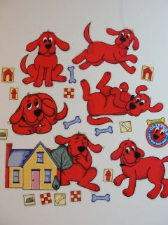 Clifford The Big Red Dog 25 Jumbo Wall Stick UPS