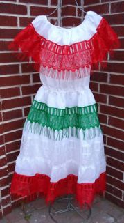 Cinco de Mayo Mexican Independence Day Dress Mexico