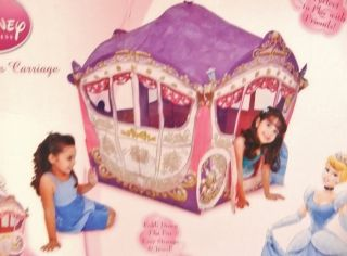 EZ Twist Disneys Princess Cinderella Carriage Cart Fold Up Play Tent