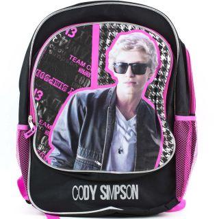 CODY SIMPSON School BACKPACK Book Bag Girls Kids Shoulder Straps 16