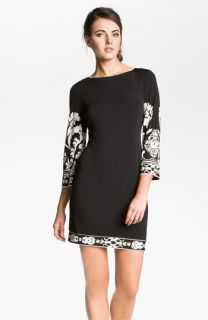 Donna Morgan Print Matte Jersey Dress