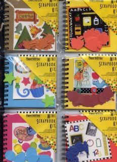48 Scrapbook Mini Album Kits 3 x 3