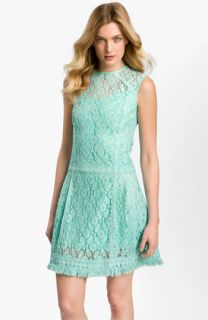 Nanette Lepore Sunset Blvd Lace Drop Waist Dress
