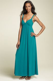 Lucky Brand Braided Strap Maxi Dress