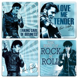 Elvis Presley Comeback Set of 4 Coasters