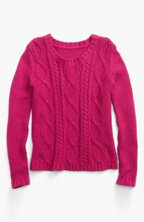 Tucker + Tate Melody Cable Knit Sweater (Little Girls)
