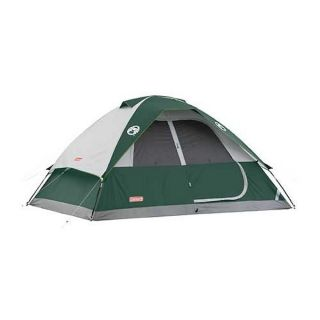 COLEMAN Oasis 6 Person Family Camping Tent w Waterproof WeatherTec 12