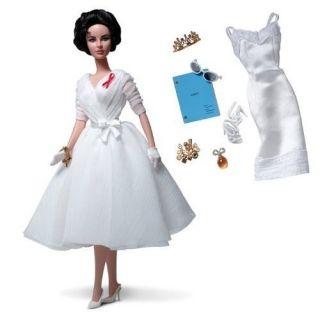 Barbie Collector ELIZABETH TAYLOR WHITE DIAMONDS Gold Label Silkstone