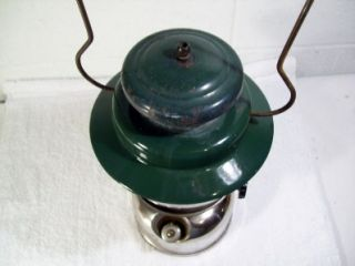 Vintage Coleman Kerosene Lantern Model 237 Nickel Undated