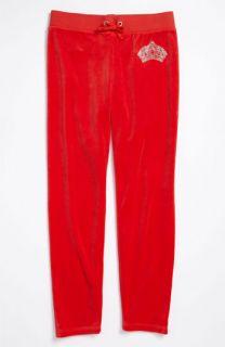 Juicy Couture Monogram Velour Skinny Pants (Little Girls & Big Girls)