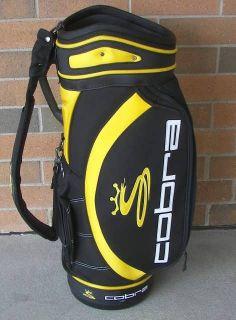 Cobra Staff Golf Bag 12 Black Yellow 12 Throat