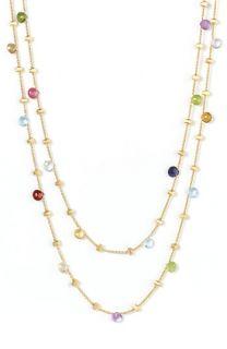 Marco Bicego Paradise Semiprecious Stone Long Necklace