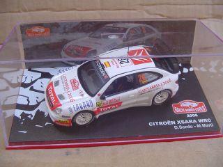 CITROEN XSARA WRC 2006 #26   RALLY MONTE CARLO   IXO ALTAYA 1:43