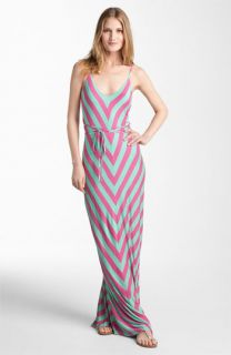 FELICITY & COCO Chevron Print Jersey Maxi Dress ( Exclusive)
