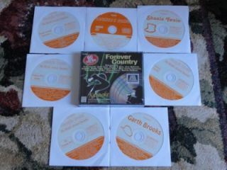 11 CDG Country Karaoke Box Set Forever Country $69 99