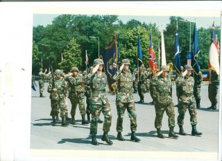 US Army Berlin Brigade Deactivation Parade June 1994