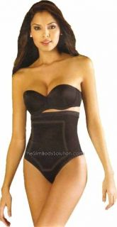Diane Faja Colombiana Cinturilla Thermo Reducer Body Shaper w Latex