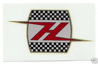 HARLEY DAVIDSON OIL TANK H DECAL SPORTSTER PANHEAD TOPPER SPRINT