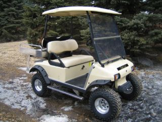 Fender Flares with Hardware for Club Car DS Golf Carts