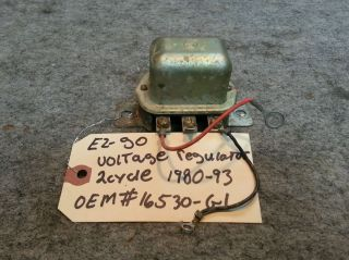 EZ Go Golf Cart Club Car Yamaha Voltage Regulator