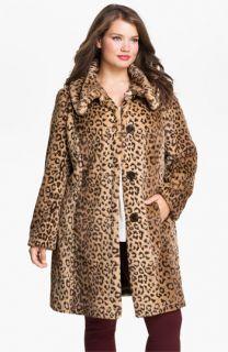 Weatherproof® Faux Fur Topper (Plus)