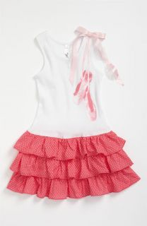 Love U Lots Ballet Shoes Drop Waist Dress (Little Girls)