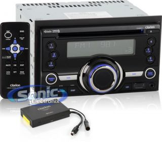 Clarion CX201 CD  USB Car Stereo Receiver HD Radio Module USB iPod