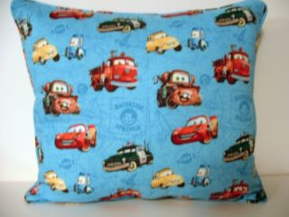 Cars Lightning McQueen Radiator Springs Pillow New