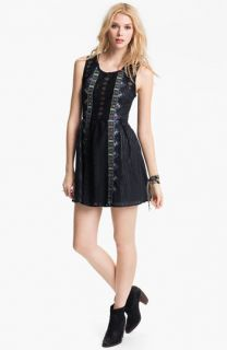 Free People Water Lily Embroidered Dress