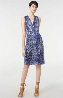 Tory Burch Carly Interlock Silk Jersey Dress