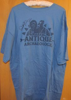 Archaeology T Shirt Autographed by Danielle Colby Cushman