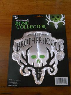 Car Truck Decal Bone Collector Camoflauge Hunting The Brotherhood