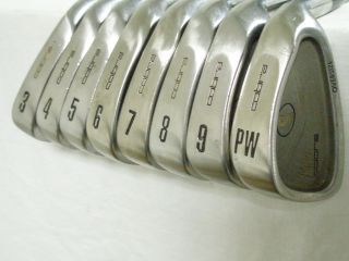 King Cobra Oversize Tour Irons Set 3 PW (Steel, STIFF) Golf Clubs