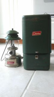 CPR Coleman Kerosene Lantern Model 247 with Case