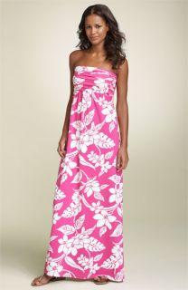Tommy Bahama Tropical Stem Bandeau Dress