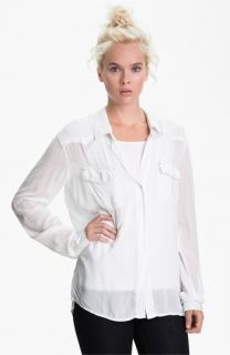 James Perse Slouchy Western Shirt