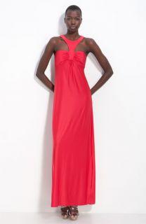 Jay Godfrey Stardust Empire Waist Maxi Dress