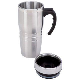 new 16oz stainless steel insulated coffee travel mug