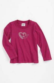 Armani Junior Studded Heart Logo Tee (Toddler)